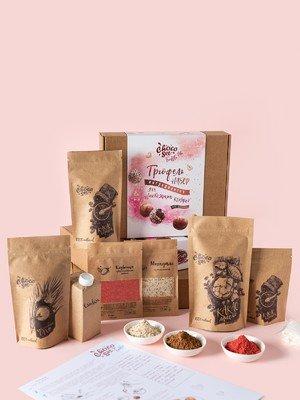 Набор ингредиентов для приготовления конфет Трюфелей ChocoSet Truffle Lite