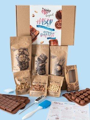 Набор для приготовления шоколада ChocoSet Original