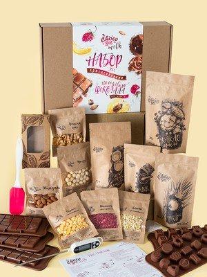 Набор для приготовления шоколада ChocoSet Milk